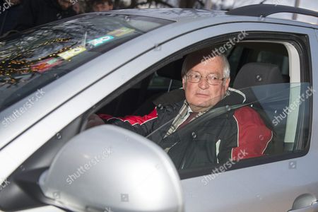 Hans-joachim Eckert Chairman of the Adjudicatory Chamber of the Ethics Committee Arrives in a Car at the Fifa Headquarters 'Home of Fifa' in Zurich Switzerland 17 December 2015 While Fifa President Joseph S Blatter Will Appear in Person Before the Panel of Four Judges of the Fifa Ethics Court Uefa President Michel Platini Plans to Boycott His Hearing on 18 December Blatter and Platini Were Banned For 90 Days on 08 October Switzerland Schweiz Suisse Zurich