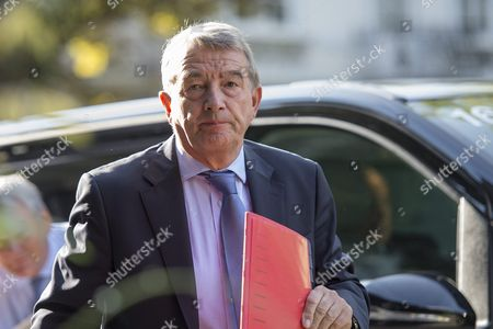 Former President of the German Soccer Association (dfb) Wolfgang Niersbach Arrives For the Union of European Football Associations (uefa) Executive Committee Meeting in the Oekolampad Centre in Basel Switzerland 18 May 2016 Epa/georgios Kefalas Switzerland Schweiz Suisse Basel