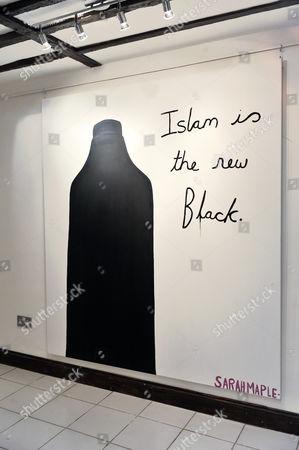 Digital print 'The New Black' by artist Sarah Maple (estimate £40,000)