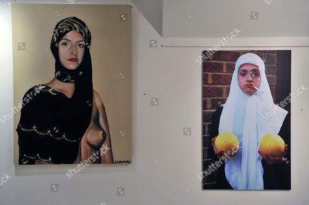 Stock Image of Various art works by Sarah Maple