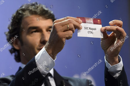 Editorial picture of Switzerland Soccer Uefa Europa League Draw - Apr 2015