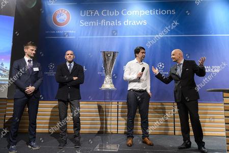Editorial image of Switzerland Soccer Uefa Europa League Draw - Apr 2015