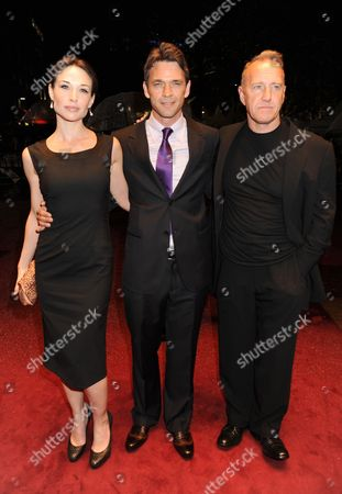 Claire Forlani, Dougray Scott and Richard Jobson