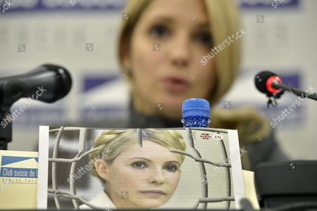 Yevgenia Tymoshenko Daughter of Jailed Former Ukrainian Prime Minister Yulia Tymoshenko Speaks During a Media Conference at the Geneva Press Club in Geneva Switzerland 24 October 2012 Ukrainians Vote on 28 October in Parliamentary Elections Overshadowed by the Absence of Jailed Opposition Leader Yulia Tymoshenko and Marked by Eu Worries Over the Fate of Democracy in the Ex-soviet State Switzerland Schweiz Suisse Geneva