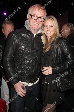 Chris Evans and Louisa Skipper