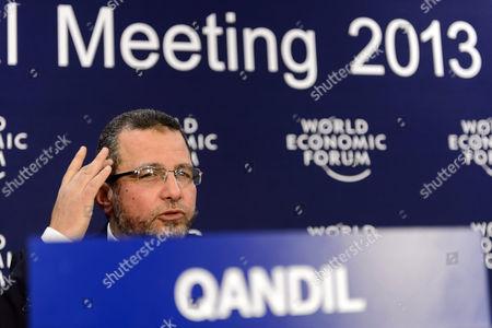 Editorial image of Switzerland Wef 2013 Davos - Jan 2013