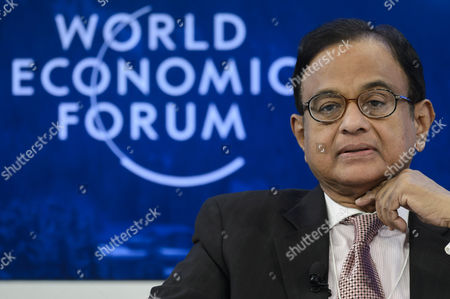 Palaniappan Chidambaram Minister of Finance of India Speaks During a Panel Session on the Second Day of the 44th Annual Meeting of the World Economic Forum Wef in Davos Switzerland 23 January 2014 the Overarching Theme of the Meeting Which Takes Place From 22 to 25 January is 'The Reshaping of the World: Consequences For Society Politics and Business ' Switzerland Schweiz Suisse Davos