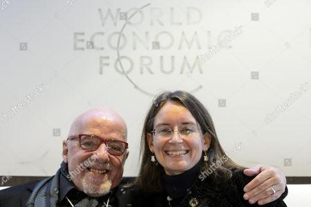 Editorial photo of Switzerland Wef 2015 Davos - Jan 2015