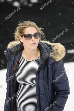 Morgan Beck Wife of Bode Miller of the Usa During the Men's Downhill Training at the 2015 Alpine World Skiing Championships in Beaver Creek Colorado Usa 03 February 2015 the World Championships Run From 02 February Through 15 February United States Beaver Creek