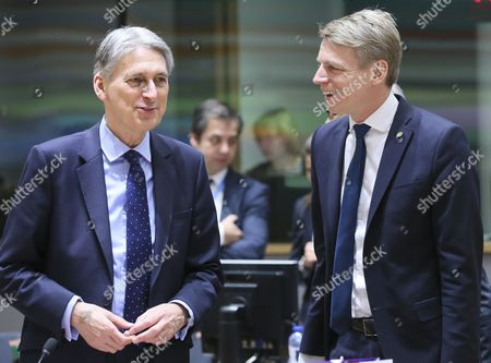 Philip Hammond and Per Bolund