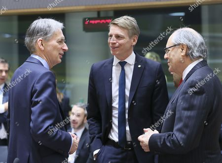 Philip Hammond, Per Bolund and Edward Scicluna
