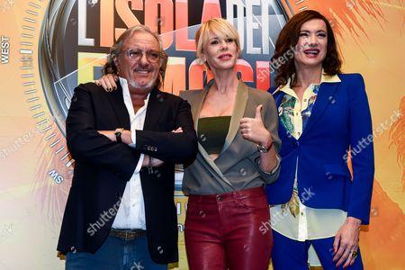 Roberto Cenci, Alessia Marcuzzi, Vladimir Luxuria