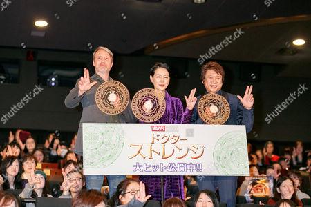 Editorial image of 'Doctor Strange' fan greeting, Tokyo, Japan - 27 Jan 2017