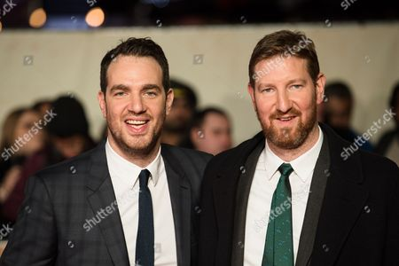 British Directors and Brothers Gabe Turner (l) and Benjamin Turner Attend the World Premiere of Their Documentary Film 'I Am Bolt' at Leicester Square in London Britain 28 November 2016 the Documentary Opens in British Cinemas on the Same Day United Kingdom London