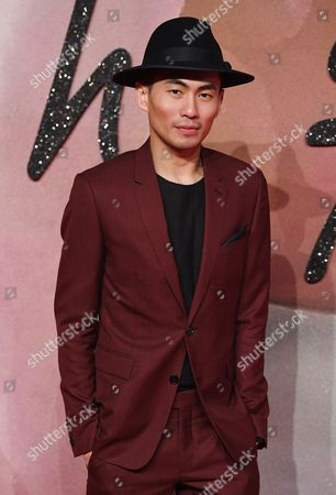 Founder of 'Self-portrait' Han Chong Arrives at the Annual British Fashion Awards Held at the Royal Albert Hall in London Britain 05 December 2016 the British Fashion Awards Recognize the Most Influential People in Fashion Today and Celebrate the Best of Both British and International Talent From the Global Fashion Community United Kingdom London