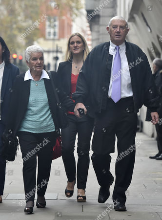 Members of Jo Cox's Family Including Mother Jean Leadbeater (l) Sister Kim Leadbeater (c) and Father Gordon Leadbeater (r) Arrive at the Old Bailey For the Trial of Tommy Mair in Central London Britain 23 November 2016 Mair Stands Accused of Murdering Jo Cox Mp in Her Constituency of Batley and Spen West Yorkshire Britain in June 2016 United Kingdom London