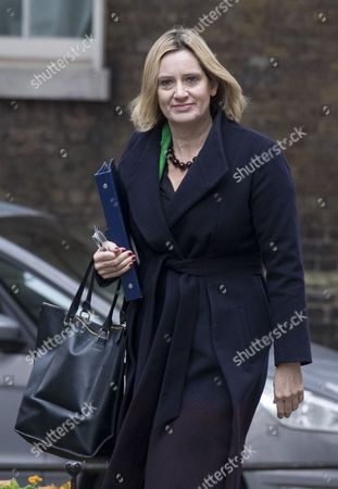 British Home Secretary Amber Rudd Arrives For a Cabinet Meeting at Downing Street in London Britain 01 November 2016 Barrister Michael Mansfield Qc who Represented Miners Caught Up in the Violence with Police at Orgreave Has Criticised the Amber Rudd's Decision not to Hold a Public Inquiry Into the Events in South Yorkshire During the Miners Strike in 1984 Which She Announced to Parliament of 31 October 2016 United Kingdom London
