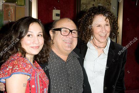 Lucy DeVito, Danny DeVito, Rhea Pearlman