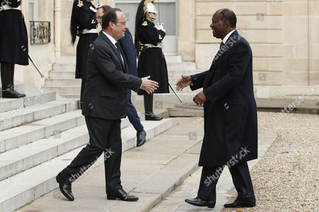 Editorial photo of France Ivory Coast Diplomacy - Nov 2016