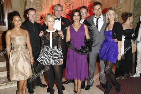 Cast of The Bill - Rhea Bailey, Andrew Lancel, Lisa Maxwell, Graham Cole, Guest, Gary Lucy,  Sam Callis and Ali Bastian
