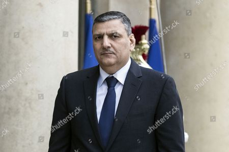 Syrian Opposition High Comity General Coordinator Riyad Hijab Arrives at the Elysee Palace For a Meeting with French President Francois Hollande in Paris France 12 December 2016 France Paris