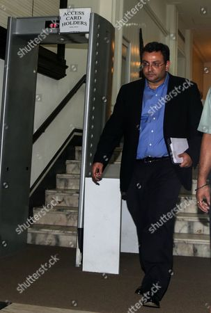 Cyrus Mistry Former Chairman of Tata Sons Leaves After Attending a Meeting at the Company's Head Office in Mumbai India 14 November 2016 According to Reports Tata Sons Wrote to Board of Tata Motors to Remove Cyrus Mistry and Nusli Wadia As Directors Ratan Tata Assumed Charge As Interim Chairman After the Tata Sons Board Sacked Its Chairman Cyrus Mistry on 24 October India Mumbai