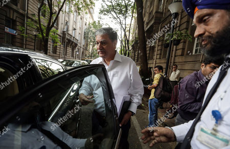 Newly Appointed Chariman of Tata Consultancy Service (tcs) Ishaat Hussain Leaves After Attending a Meeting at Bombay House Heaq Office of Tata Gourp in Mumbai India 10 November 2016 According to Reports Tcs Received a Notice From Its Parent Company Tata Sons to Replace Cyrus Mistry with Ishaat Hussain For the Chairman of the Company with Immediate Effect Recently Ratan Tata Assumed Charge As Interim Chairman After the Tata Sons Board Sacked Its Chairman Cyrus Mistry on 24 October India Mumbai
