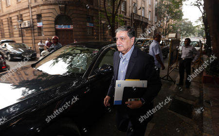 Newly Appointed Chariman of Tata Consultancy Service (tcs) Ishaat Hussain Arrives to Attend a Meeting at the Bombay House Head Office of the Company in Mumbai India 17 November 2016 According to Reports the Board of Tata Consultancy Services (tcs) and Tata Son's Met on 17 November For the First Time to Decide the Date For an Extraordinary General Meeting (egm) to Oust Its Fromer Chariman Cyrus Mistry As Director Ratan Tata Assumed Charge As Interim Chairman After the Tata Sons Board Sacked Its Chairman Cyrus Mistry on 24 October India Mumbai