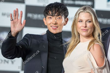 South Korean Actor/cast Member Lee Joon-gi (l) and Us Actress/cast Member Ali Larter (r) Attend the World Premiere of 'Resident Evil: the Final Chapter' in Tokyo Japan 13 December 2016 the Film Will Hit Screens Across Japan From 23 December Japan Tokyo