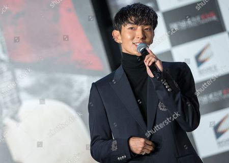 South Korean Actor/cast Member Lee Joon-gi Attends the World Premiere of 'Resident Evil: the Final Chapter' in Tokyo Japan 13 December 2016 the Film Will Hit Screens Across Japan From 23 December Japan Tokyo