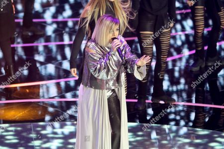 Stock Image of Poli Genova Performs During the Junior Eurovision Song Contest in Valletta Malta 20 November 2016 Malta Valletta