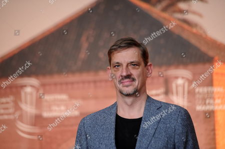 Belgian Actor Peter Van Den Begin Poses During the Photocall For the Movie 'King of the Belgian' at the 16th Marrakech International Film Festival in Marrakech Morocco 03 December 2016 the Festival Runs From 02 to 10 December Morocco Marrakech
