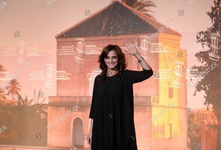 Bulgarian Actress Nina Nikolina Poses During the Photocall For the Movie 'King of the Belgian' at the 16th Marrakech International Film Festival in Marrakech Morocco 03 December 2016 the Festival Runs From 02 to 10 December Morocco Marrakech