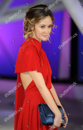 French Actress Constance Rousseau Poses For Photographers During the Photocall at the 16th Annual Marrakech International Film Festival in Marrakech Morocco 09 December 2016 the Festival Runs From 02 to 10 December Morocco Marrakech