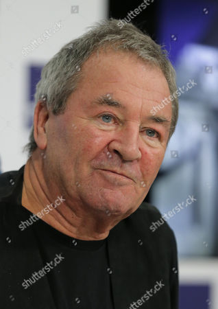 British Singer-songwriter Ian Gillan Attends a News Conference at the Russian Itar-tass News Agency in Moscow Russia 14 November 2016 Gillan Will Perform a Concert Entitled 'Ian Gillan Sings Deep Purple' with the Don Airey Band and the Russian Philharmonic Symphony Orchestra Conducted by Stephen Bentley-klein That Will Be Held at the Moscow Kremlin on 15 November Russian Federation Moscow