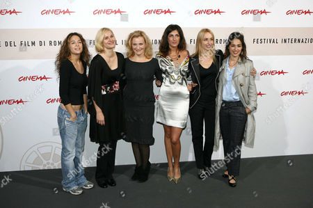 Aylin Prandi, Laura Malmivaara, Lena Reichmuth, Elodie Serra, the director Anne Riitta Ciccone and Diane Fleri