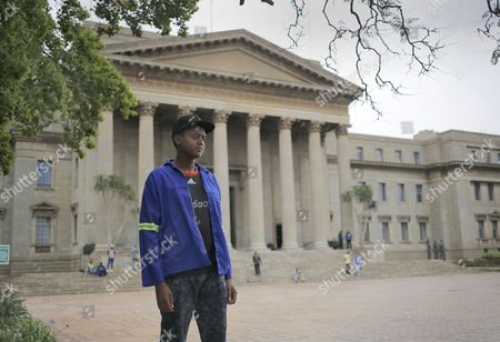 A Picture Issued on 30 November 2016 As Part of a Photo Essay Shows Prominent Student Leader David Manabile at the Great Hall of Wits University Johannesburg South Africa 23 November 2016 when Asked if Nelson Mandela's Legacy Still Exists He Answered: 'The Majority of Black People in This Country is Still Poor and Marginalized and They Can't Afford the Insane Amount of Fees Required by This University We Feel Like He Did what He Had to Do the Failure Lies in Those who Succeded Him i Think He Did what He Had to Do For the Transition to Move Swiftly and Softly Because Otherwise i Don't Think the White Apartheid Regime was Going to Give Away Power the Political Power So For Him to Get the Political Power Without Blood Being Shed He Had to Do what He Did and It is People Like Thabo Mbeki and Jacob Zuma who Are Failing Black People in This Country Mandela Left the Foundation For Them They Have Failed Us Because Now They Have the Power to Do As They Please and They Are Failing to Address Black People Being Mineralized 20 Years Into Democracy' Upcoming 05 December 2016 Marks the Third Year Since the Nobel Peace Prize Winner and First Black President of South Africa Passed Away South Africa Has Experienced Violent Protests Against Tuition Fees by University Students Racial Tensions Rising and a Huge Anti Anc Government Sentiment Since Mandela Died Causing Some in Society to Ask if Mandela's Legacy Has Been Forgotten South Africa Johannesburg