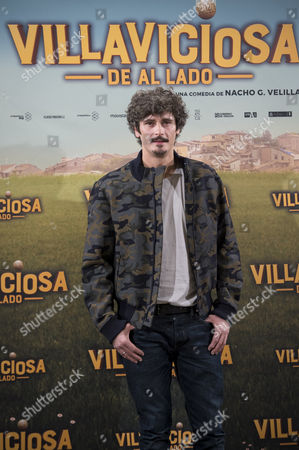 Stock Image of Spanish Actor Antonio Pagudo Poses During the Presentation of the Spanish Film Comedy 'Villaviciosa De Al Lado' in Madrid Spain 29 November 2016 the Film Will Be Released Next 02 December 2016 Spain Madrid