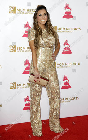 Alexandra Olavarria Arrives on the Red Carpet For the 2016 Latin Recording Academy Person of the Year Gala at Mgm Grand Garden Arena in Las Vegas Nevada Usa 16 November 2016 the Gala is Celebrating Us Musician Marc Anthony For His Artistic Social Contributions to the Latin Music and Culture United States Las Vegas