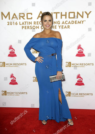 Venezuelan Actress Georgina Palacios Arrives on the Red Carpet For the 2016 Latin Recording Academy Person of the Year Gala at Mgm Grand Garden Arena in Las Vegas Nevada Usa 16 November 2016 the Gala is Celebrating Us Artist Marc Anthony For His Artistic Social Contributions to the Latin Music and Culture United States Las Vegas