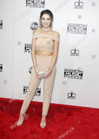 Jess Bauer Arrives For the 2016 American Music Awards at the Microsoft Theatre in Los Angeles California Usa 20 November 2016 United States Los Angeles