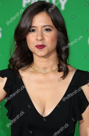 Stock Picture of Us Actress Chloe Wepper Arrives For the Paramount Pictures Film Premiere of 'Office Christmas Party' at the Regency Village Theatre in Westwood California Usa 07 December 2016 United States Westwood