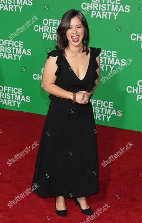 Us Actress Chloe Wepper Arrives For the Paramount Pictures Film Premiere of 'Office Christmas Party' at the Regency Village Theatre in Westwood California Usa 07 December 2016 United States Westwood