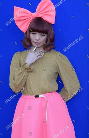 Japanese Model and Singer Kyary Pamyu Pamyu Arrives For the Premiere of Universal Pictures' 'Sing' in Los Angeles California Usa 03 December 2016 the Movie Opens in Us Theaters on 21 December 2016 United States Los Angeles