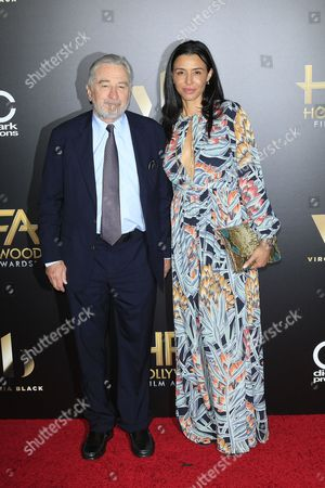 Us Actor Robert De Niro (l) Arrives with His Daughter Drena De Niro (r) For the 20th Annual Hollywood Film Awards in Beverly Hills California Usa 06 November 2016 United States Beverly Hills