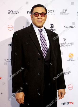 Us Actor Harry Lennix Arrives on the Red Carpet For the 44th International Emmy Awards in New York New York Usa 21 November 2016 United States New York