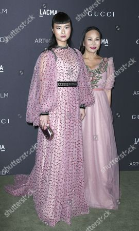 Eva Chow (r) and Asia Chow (l) Arrive For the Lacma Art+film Gala at the Los Angeles County Museum of Art (lacma) in Los Angeles California Usa 29 October 2016 Now in It's Sixth Year the Lacma Art+film Gala Brings Together Noteables From the Art Film Fashion and Entertainment Industries This Year's Honorees Are Us Artist Robert Irwin and Us Filmmaker Kathryn Bigelow United States Los Angeles