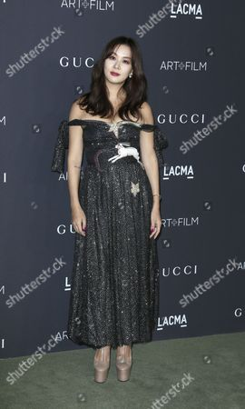 Stock Image of Korean Actress Ko So-young Arrives For the Lacma Art+film Gala at the Los Angeles County Museum of Art (lacma) in Los Angeles California Usa 29 October 2016 Now in It's Sixth Year the Lacma Art+film Gala Brings Together Noteables From the Art Film Fashion and Entertainment Industries This Year's Honorees Are Us Artist Robert Irwin and Us Filmmaker Kathryn Bigelow United States Los Angeles