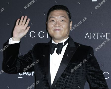 Korean Singer Psy Arrives For the Lacma Art+film Gala at the Los Angeles County Museum of Art (lacma) in Los Angeles California Usa 29 October 2016 Now in It's Sixth Year the Lacma Art+film Gala Brings Together Noteables From the Art Film Fashion and Entertainment Industries This Year's Honorees Are Us Artist Robert Irwin and Us Filmmaker Kathryn Bigelow United States Los Angeles