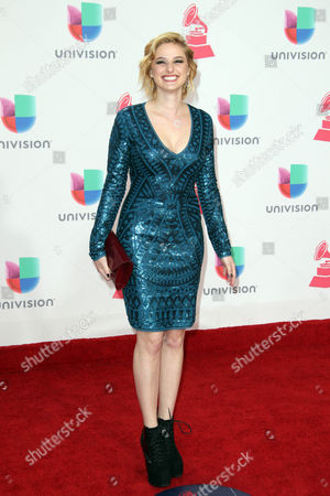 Stock Photo of Isabella Prida Arrives at the 17th Annual Latin Grammy Awards at the T-mobile Arena in Las Vegas Nevada Usa 17 November 2016 Latin Grammy Awards Recognize Artistic and Technical Achievement not Sales Figures Or Chart Positions and the Winners Are Determined by the Votes of Their Peers and Qualified Voting Members of the Academy United States Las Vegas